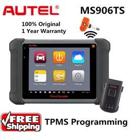 Autel Peugeot Australia - Autel MaxiSys MS906TS Auto Diagnostic System TPMS programming tool ECU Coding OE-level Diagnostic Scanner Better than Autel Maxisys MS906