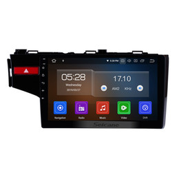 Gps Monitoring For Cars Australia - 10.1 Inch OEM Android 9.0 Car Radio For 2014 2015 Honda FIT with Bluetooth GPS navigation WIFI USB support car dvd Headrest Monitor Control