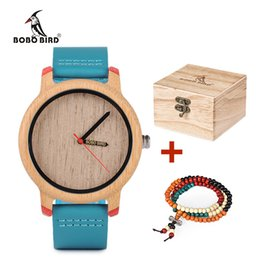 $enCountryForm.capitalKeyWord Australia - Bobo Bird Timepieces Bamboo Watches For Men And Women Luxury Quartz Wristwatches With Leather Straps In Wooden Gifts Box Y19052004