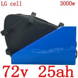 Toptan satış 72V Elektrikli Scooter Pil 25Ah 20Ah 17AH 14AH 13AH Lityum Ebike Pack 1000W 2000W 3000W Motor için LG Hücresini Kullanın