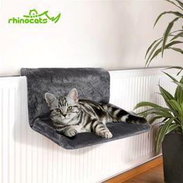 $enCountryForm.capitalKeyWord NZ - Rhinocats Cat Hammock Cage Radiator Window Bed Lounger Bearings Cushion Cama Gato Adjustable Warm Shelf Seat House For Pet Cats T8190701