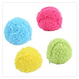 $enCountryForm.capitalKeyWord Australia - Dust Cleaner Home Decor Automatic Rolling Ball Electric Vacuum Floor Sweeping Robot Household Microfiber Ball Cleaning Tool