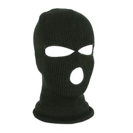 China Outdoors Men Women Helmet Liner Windproof Face Mask Knitted Bike Motorcycle Neck Warmer Mask Full Face Cover Cycling Hat cheap full white face mask woman suppliers