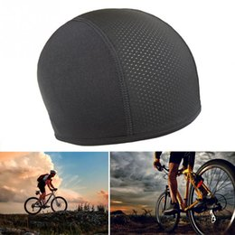 Wholesale Anti UV Anti sweat Quick Dry Helmet Cycling Cap Sports Hat Motorcycle Bike Riding Bicycle Cycling Hat Unisex