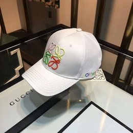 $enCountryForm.capitalKeyWord NZ - Fashion Brand Designer Caps Man Woman Baseball Caps for Mens Woman Caps Adjustable Embroidery Letter Hats White 3 Colors Option High Quality