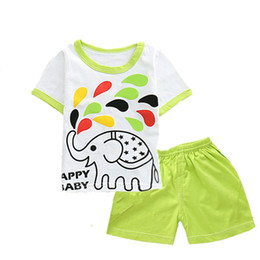 Pink Body Suits Australia - 2019 new baby boy and girl clothes body suit quality 100% cotton children t shirt summer cartoon kids clothing sets