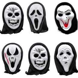 $enCountryForm.capitalKeyWord Australia - 1Pc Death Final Destination Scream Skull Ghost Mask Fake Face Multi-shape Scary Halloween Cosplay Masquerade Supplies