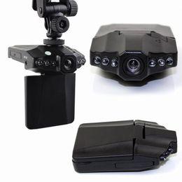 50PCS Top selling 2.5'' Car Dash cams Car DVR recorder camera system black box H198 night version Video Recorder dash Camera from circles car suppliers