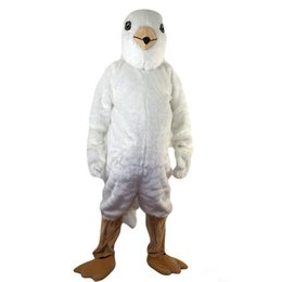 $enCountryForm.capitalKeyWord UK - New high quality white bird eagle Mascot costumes for adults circus christmas Halloween Outfit Fancy Dress Suit Free Shipping