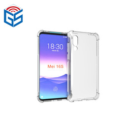 $enCountryForm.capitalKeyWord Australia - For Meizu 16S Anti Shock Shockproof Full Clear Soft Gel TPU Back Phone Case Cover New Arrivals Products