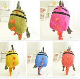 dinosaur toys for babies NZ - Cute Dinosaur Baby Preschool Backpack Children Toy Backpack School Bag Shoulders Bag School For Boys Girls