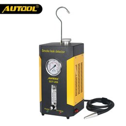 Engine Camera Australia - AUTOOL SDT206 Car Smoke Leakage Detector Automotive EVAP Leak Tester Locator Auto Diagnostic Generator Intake Bladder Airbag