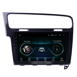 Golf Cars Vw Australia - 1024*600 10.1 inch Android 8.1 GPS Navi Car Stereo for 2013 2014 2015 VW Volkswagen Golf 7 with WIFI Bluetooth Music USB support 1080P Video