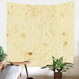 arts crafts adults NZ - Burrito Print Tapestry Art Room Wall Hanging Tapestry Art Nature Home Decor New arrive home decor Crafts Decoration Blanket
