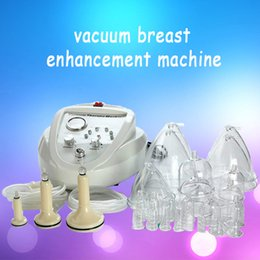 Wholesale 2019 Vacuum Massage Therapy Enlargement Pump Lifting Breast Enhancer Massager Bust Cup Body Shaping Beauty Machine CE DHL