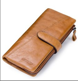 $enCountryForm.capitalKeyWord NZ - New Genuine Leather Wallet Fashion Coin Purse For Ladies Women Long Clutch Wallets With Cell Phone Bags Card Holder designer purse