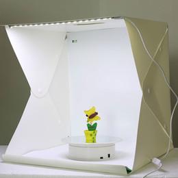 $enCountryForm.capitalKeyWord Australia - Hot Portable Folding Lightbox Photography Photo Studio Softbox Lighting Kit Light Box for iPhone Samsang Digital DSLR Camera