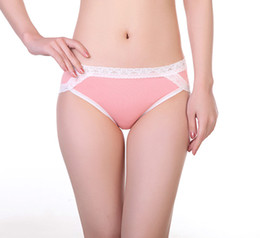 $enCountryForm.capitalKeyWord Australia - Ladies Cotton Underwear High Waist Sexy Lace Edge European Oversized Size Briefs High Quality Panties S-2XL