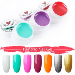 acrylic paint gel nails Australia - 30 Colors Nail Art Painting Nail Gel Polish Draw Acrylic Color UV LED Gel Varnish DIY Makeups Tips KG66