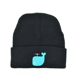$enCountryForm.capitalKeyWord UK - High Quality Warm Cartoon Whale Embroidered Knitted Hat European Cross-border Men And Women Casual Joker Double Knit Hat Wholesale