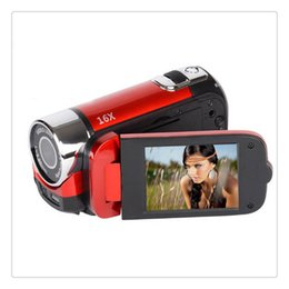 $enCountryForm.capitalKeyWord Australia - Recorder Camera 16MP High Definition Digital Video Camcorder Camera 1080P 2.7 Inches TFT LCD Screen 16X Zoom US Plug Wholesale