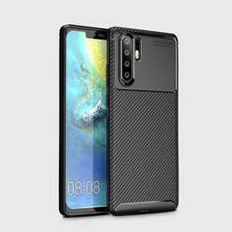 Nextel Battery Australia - Carbon Fiber TPU Cell Phone Cases For Huawei Honor P30 pro samsung S10 plus Iphone xs max TPU mobile Phone Case
