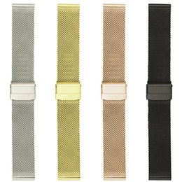s2 smart watches NZ - Milanese Straps for Samsung Gear Sport S2 classic samsung galaxy watch 42mm Smart Watch Band Double Buckle Stainless Steel Wristband