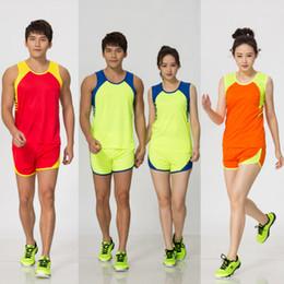 Group Purchase Men And Women Athletics Serve Suit Children Run Serve Senior High School Entrance Examination Sprint Long-distance Run on Sale