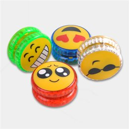 Intelligence Children Toys Led Light Emitting Yoyo Ball Emoji Small Kids Creative Birthday Party Gift 1 55yf Ww