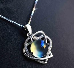 crystal diamond shaped pendant Canada - Women's New Designer Sells Silver Jewellery Crystal Heart-Shaped Accessories Necklace Fashionable Hip-Hop Grape Pendant Clavicle Accessories