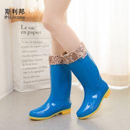 $enCountryForm.capitalKeyWord NZ - All-Season PVC Protective Shoes for Women 2018 Kitchen Non-slip Warm Platform Mid-Calf Rainboots Cotton Sleeve Waterproof Martin