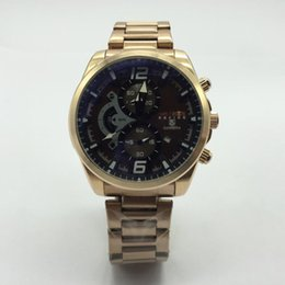 Discount mens swiss chronograph luxury watches - AAA Full Function Sports Mens Watches Quartz Wristwatches Stopwatch Luxury Watch Swiss Top Brand male clocks wholesale m
