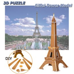 $enCountryForm.capitalKeyWord NZ - Eiffel Tower 3D Puzzles DIY World Attractions Handmade Assembling Building Model Toys Gifts for Kids Adults Home Office Decoration