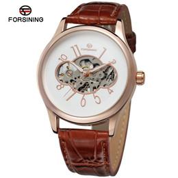 $enCountryForm.capitalKeyWord Australia - Forsining Brand Mens Luxury Mechanical Wristwatch Transparent Open Work Men Watch Classic Royal Skeleton Design Golden Case Clock SLZe53
