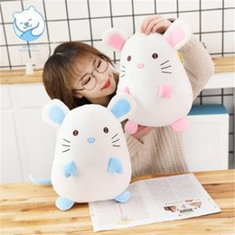 23c48f0e1611 Soft Sleeping cat toy online shopping - 20170614 cm Kawaii Soft Cotton Stuffed  Animals Cute Mouse