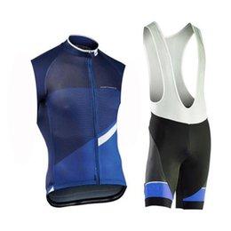 a1f5f5637 Triathlon Cycling Jersey set NW Pro Team Men breathable sleeveless Bike  Clothing 9D bib Shorts outdoor Anti-UV Mountain Bike Jersey