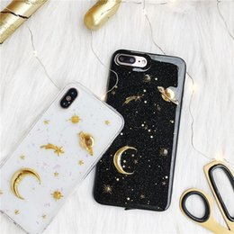 $enCountryForm.capitalKeyWord NZ - Star Moon Sky Phone Cases For iPhone XR XS MAX 8 7 6 6S Plus High Quality Newest Arrival Cellphone Shell Case