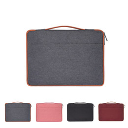 Hp laptop bags cHina online shopping - hot selling Portable waterproof and wear resistant Polyester laptop bag soft liner package for Apple Lenovo Xiaomi