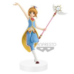 Action figures sAkurA online shopping - Original Banpresto Action Figure Card Captor Sakura Figure PVC Collection Model Toys Cartoon Magical Girl SAKURA Figurine