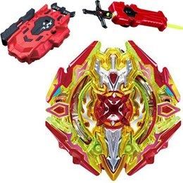 spin toys UK - Latest hot sale Beyblade Burst B-128 B-122 B-120 B-117 Toupie Bayblade bursts Metal Fusion God Spinning Top Bey Blade Blades Toy