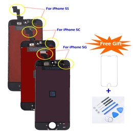 $enCountryForm.capitalKeyWord NZ - For iPhone 5S LCD Replacement Best Quality Touch Screen Display Screen Digitizer Assembly Factory Price LCD for iPhone SE
