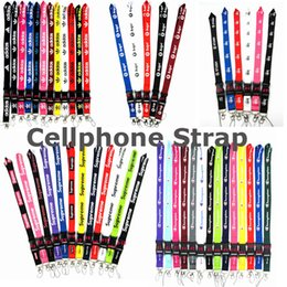 $enCountryForm.capitalKeyWord Australia - Cellphone lanyard Straps Clothing Sports brand for Keys Chain ID cards Holder Detachable Buckle DHL shipping