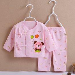 Infant Boy Sleepwear Australia - good quality Baby Girls Clothing Set Infant Girls Spring Autumn Cotton Sport Suit Newborn Girls Tops+Pants 2pcs Casual Sleepwear Set