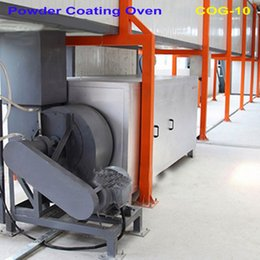 Industrial Coatings Australia - COG-10 Industrial Propane Gas Fired Electrostatic Paint Powder Coating Curing Oven