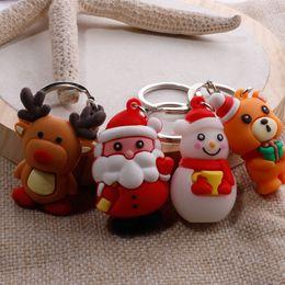 Vendita calda animali Cartoon figurine regalo di natale Modelli di esplosione nuovo simpatico cartone animato portachiavi ciondolo Accessori moda H023