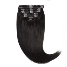 China 100% human hair clip in human hair extension for black women,clip extension remy human clip in hair extension suppliers