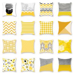 Almohadas Amarillas Para Sofá Online | Almohadas Amarillas