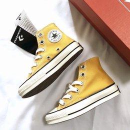 Опт ЕС размер 23-36 новый бренд дети холст обувь Мода высокого верха повседневная кроссовки мальчики девочки спортивные холст обувь Детская обувь chaussures enfant
