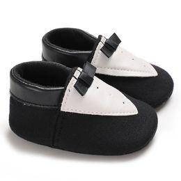 $enCountryForm.capitalKeyWord UK - Black Bow Tie Baby Shoes Cartoon Shoes Toddler Kids Girls Boys Animal Soft Warm Non-Slip Slippers House
