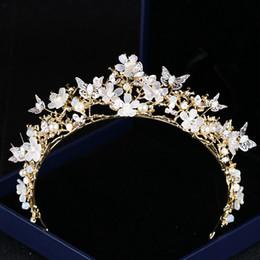 0c0d618372e2f2 Luxus 2019 Hochzeit Braut Tiara Strass Kopfschmuck Kristall Braut  Stirnbänder Haarschmuck Abend Braut Kleider